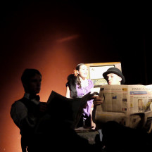 BIGLIETTO DI SOLA ANDATA Laboratorio ragazzi di Francesca Giaconi maggio 2012