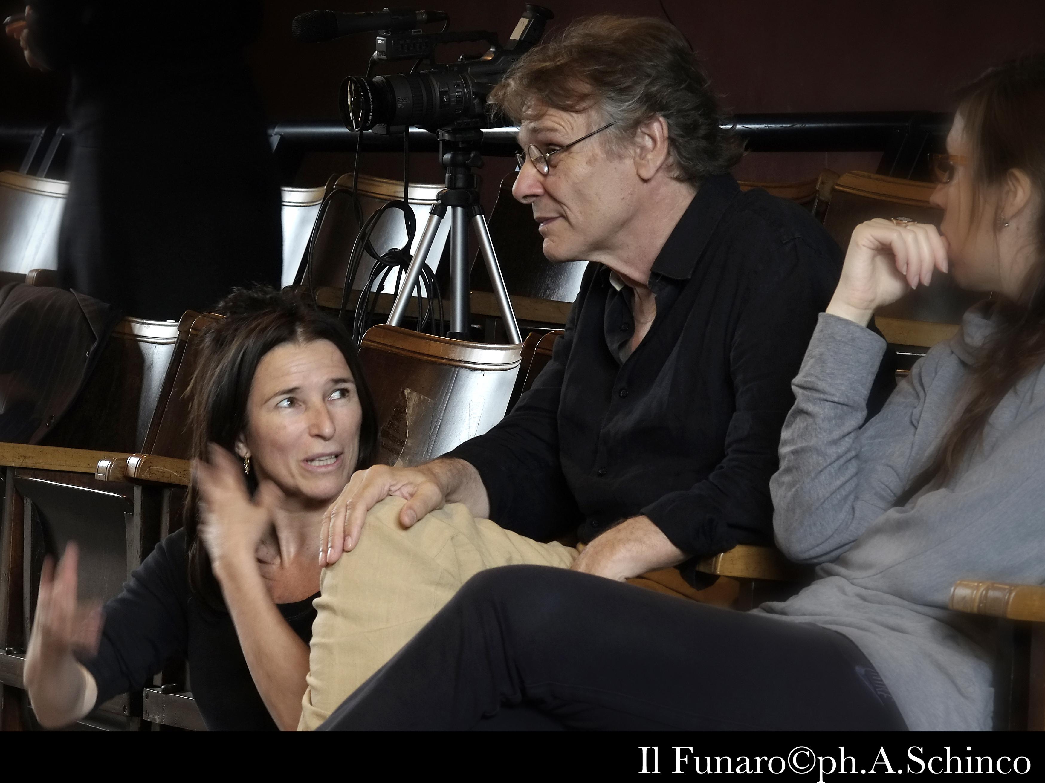 Residenza per lo spettacolo Il 6° continente Lilo Baur, Daniel Pennac, Clara Bauer giugno 2012