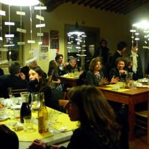 Cena in caffetteria dopo lo spettacolo 28 Novembre 2009