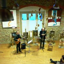Inaugurazione SPAZIO ARTI VISIVE con Antonio Catalano 1 Novembre 2009