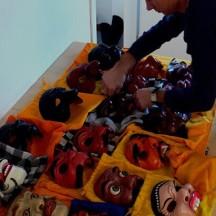 L' USO DELLA MASCHERA NELLA RICERCA DELL' IMMAGINARIO DELL' ATTORE Workshop con Duccio Bellugi Vannuccini Febbraio 2008