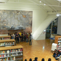 NOTTE BIANCA Biblioteca San Giorgio 4 Aprile 2009