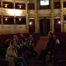 SIMPLICITY IS VERY SOPHISTICATED - Workshop con Jean- Guy Lecat - visita al Teatro La Pergola di Firenze - Novembre 2006