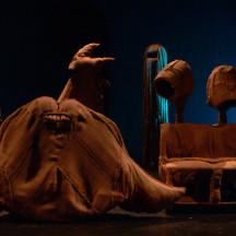 SCULTURA DA INDOSSARE - di Zoe Gruni - studio per CONVERSAZIONE CON LA PIETRA - Ottobre 2006