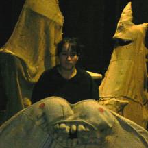 Zoe Gruni - studio per CONVERSAZIONE CON LA PIETRA - Ottobre 2006