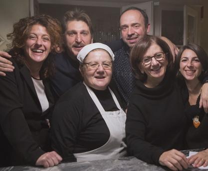 Foto di gruppo con Matej Forman